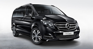 Mercedes v class mpv