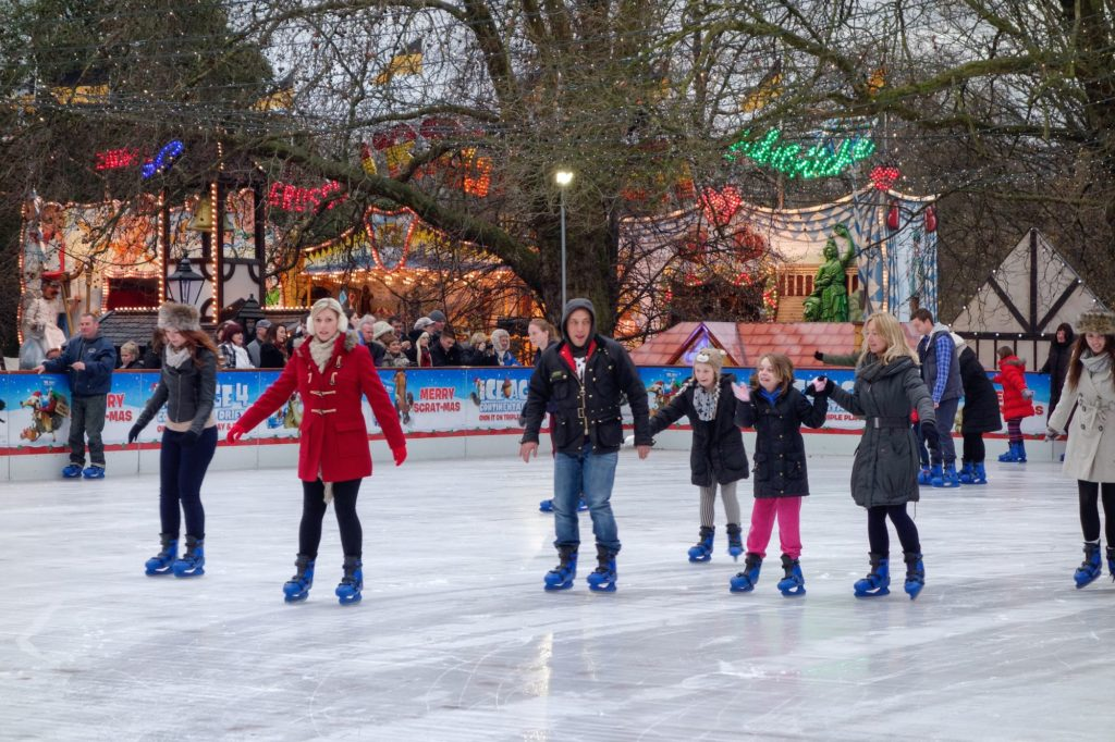 Ice-skating-in-London